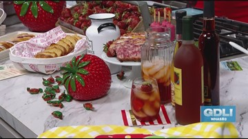 It's a strawberry extravaganza at Huber's Orchard & Winery