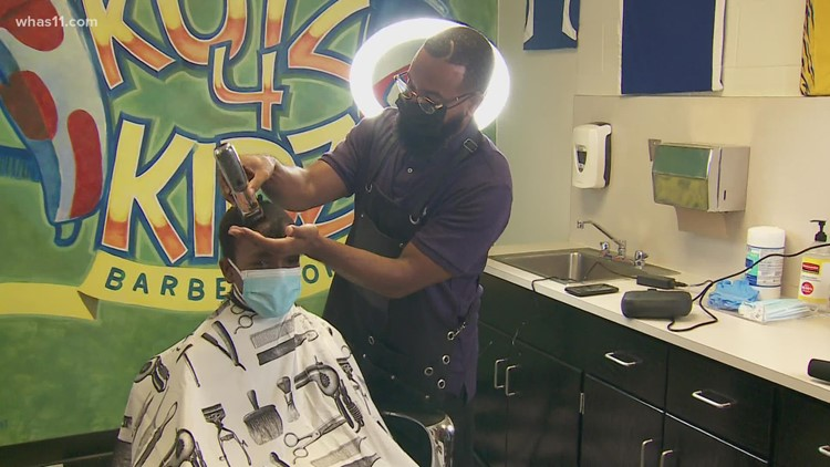 JCPS middle school is first to have a licensed barbershop in the building