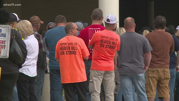 Heaven Hill workers vote to end six-week strike, agreement reached on five-year contract