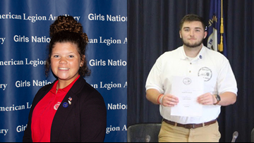 Butler High School students elected governors of Boys' and Girls' State