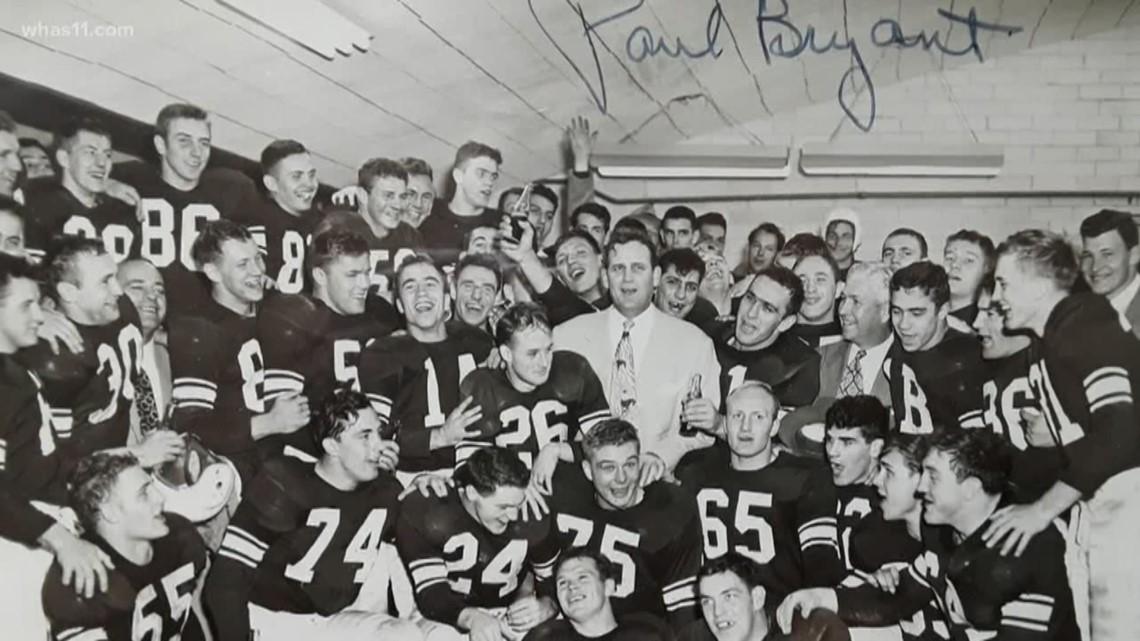 The legendary history of UK coach Bear Bryant | whas11.com