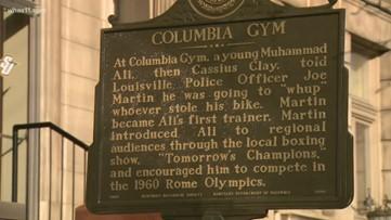 Spaulding University unveils Muhammad Ali  historical marker
