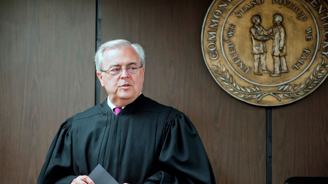 Kentucky's chief justice John Minton won't seek another term on Supreme Court