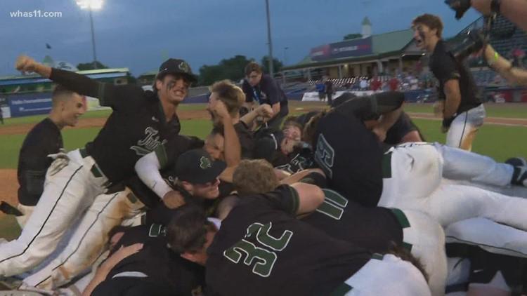 Trinity baseball wins first baseball state title