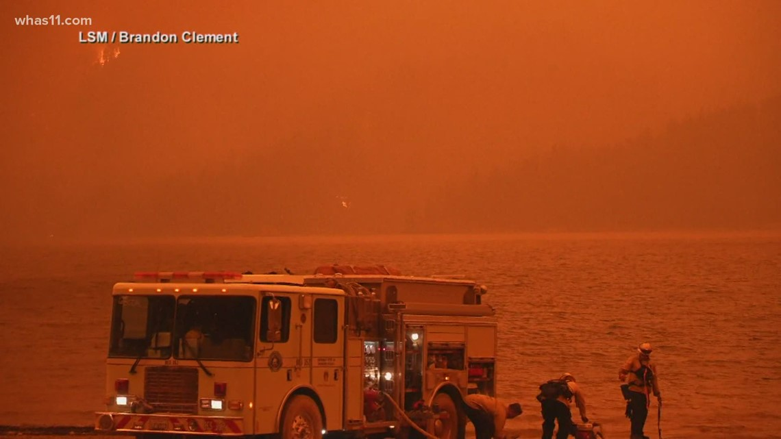 Wildfires raging in at least 13 US states
