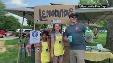 Girls raise money for Crusade for Children