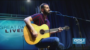 Frankie Leo performs on Great Day Live