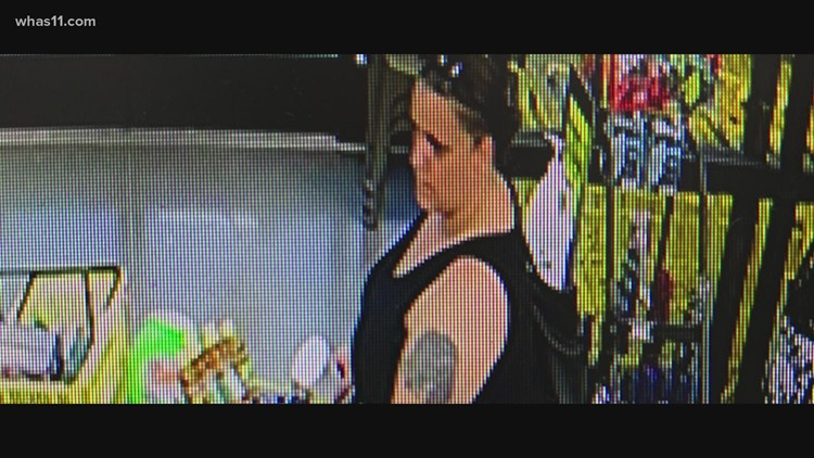 CrimeStoppers: Meade Co. police look for theft suspect