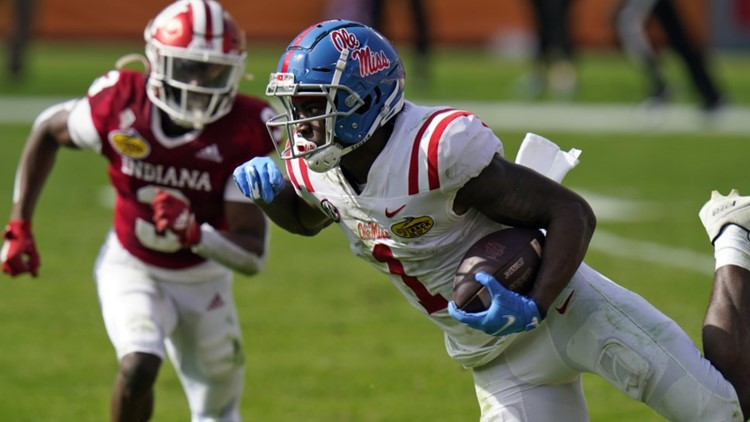 Mississippi beats No. 7 Indiana 26-20 in Outback Bowl