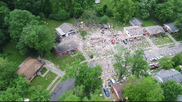 1 dead, 3 injured after house explosion in Jeffersonville