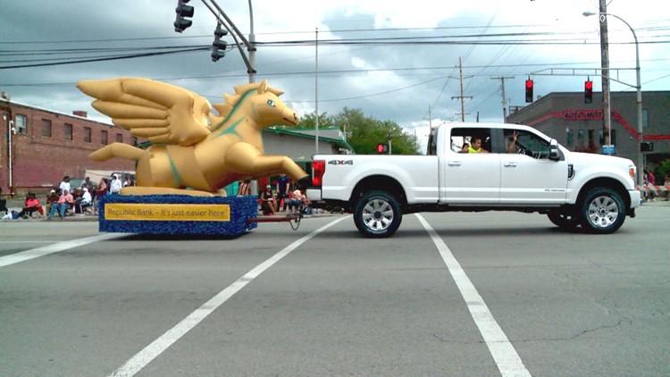 Pegasus Parade going 'on tour' through 35+ neighborhoods this weekend