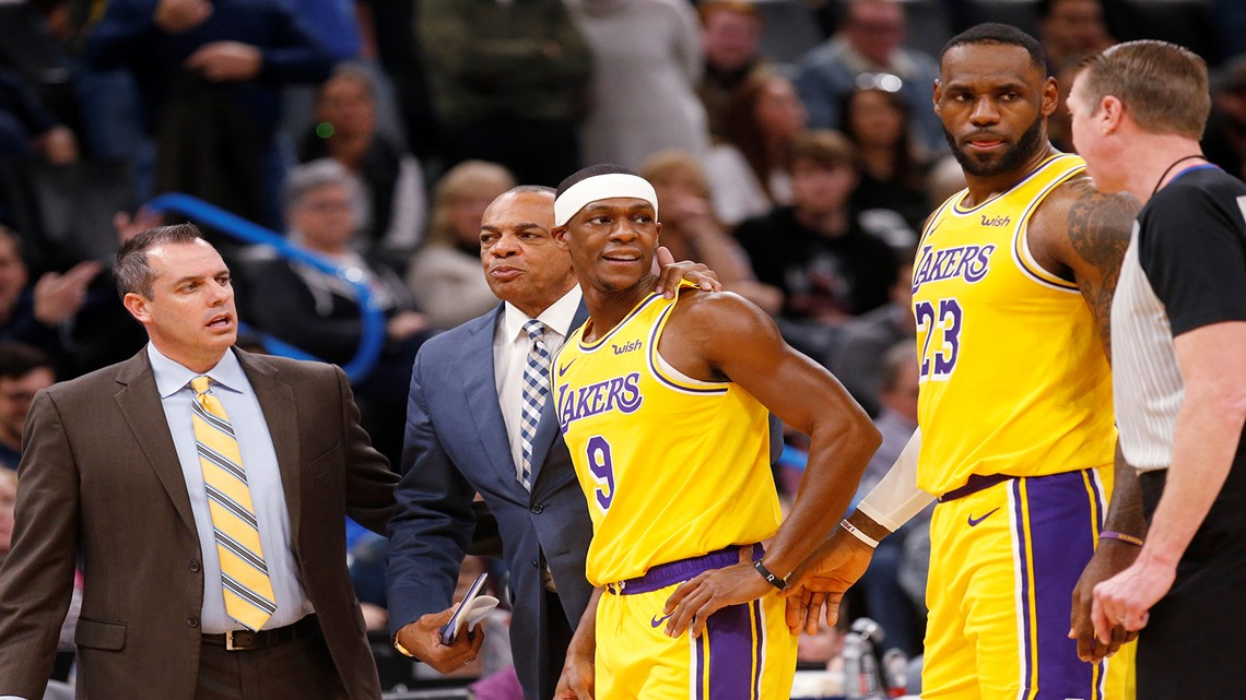 Lakers G Rondo fined $35,000 by NBA