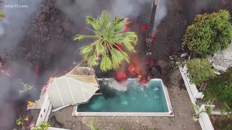 Volcano erupts on Spain's La Palma Island, evacuations continue