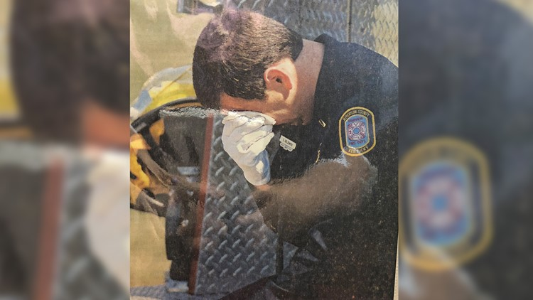 unsolved arson firefighter crying