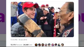 Trump sides with Kentucky Catholic high school students from controversial Lincoln Memorial confrontation