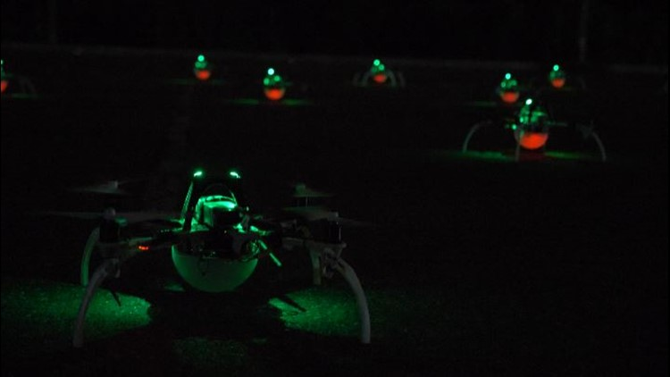 Drone show joins Thunder Over Louisville lineup for first time