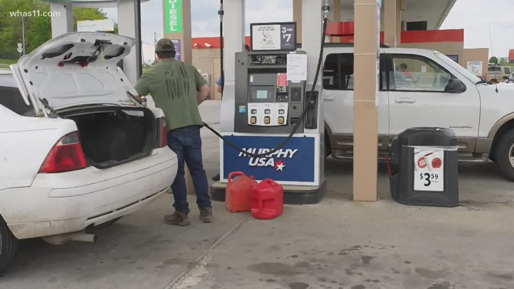 Kentucky drivers told not to panic during disruption of gasoline distribution