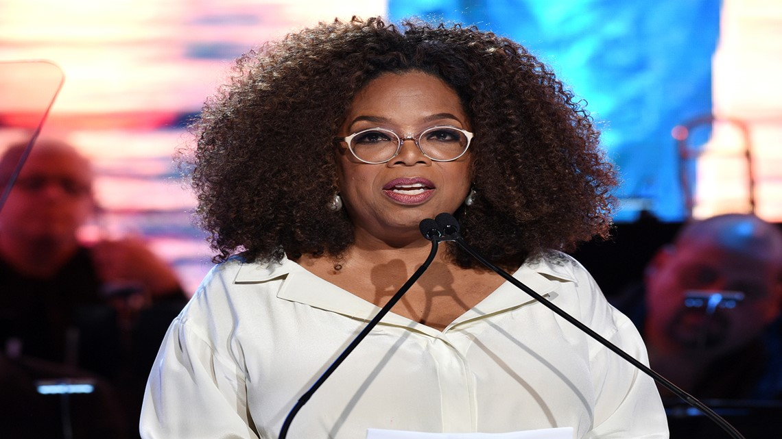 Image result for Oprah Winfrey visits Maui Humane Society following wildfire
