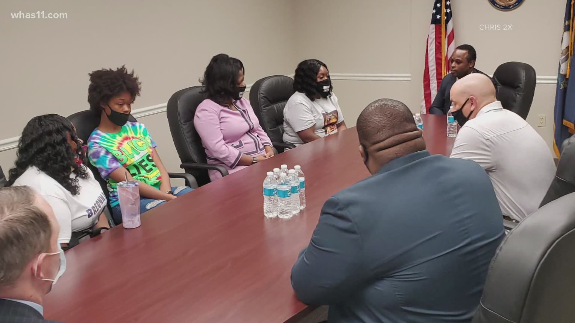 Kentucky Attorney General Meets With Breonna Taylor's Family For The 1st Time [VIDEO]