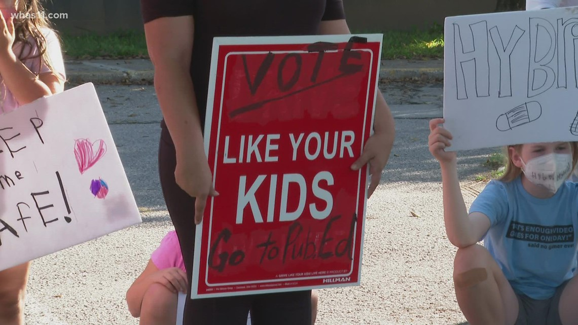 Parents protest over proposed school policy changes