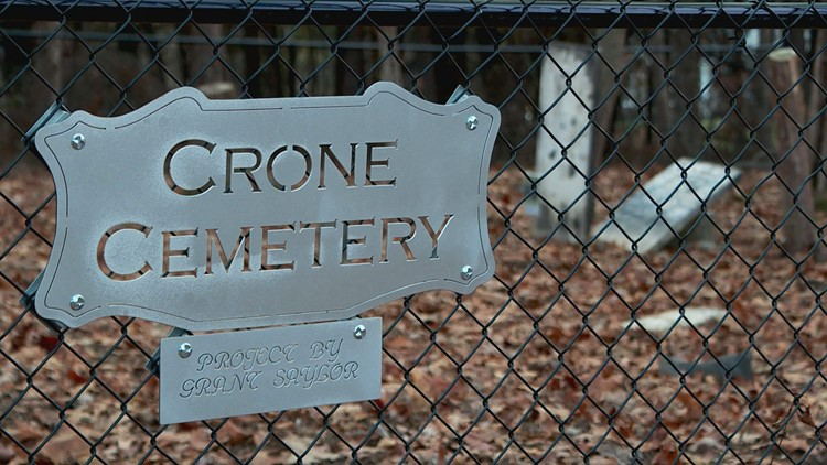 Crone Cemetery project