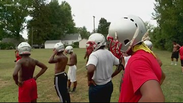 High schools make safety priority during football practice in extreme heat