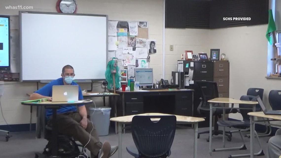 ExCel Award   'I'm humbled': Meet Shelby County High School Teacher Jeff Bracken
