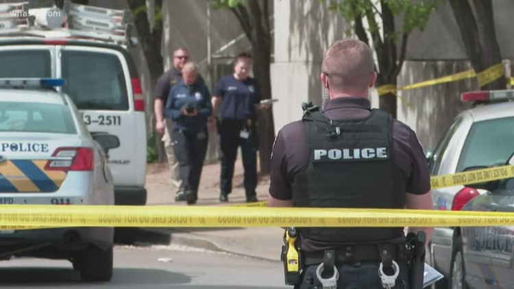 Man dies in officer-involved shooting in Downtown Louisville