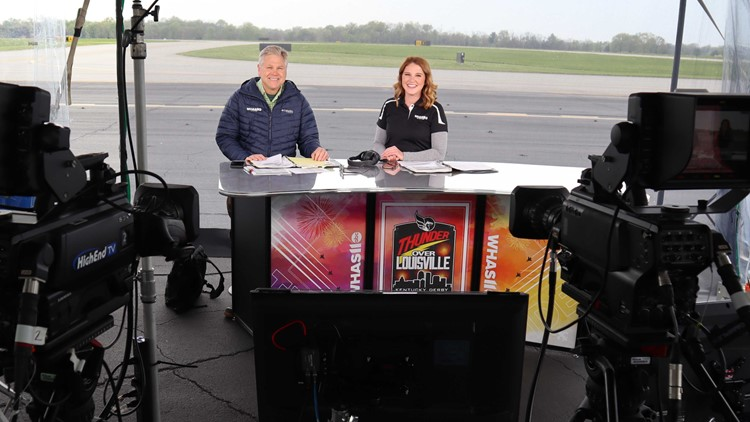 PHOTOS | Behind the scene with WHAS11 crew at Thunder Over Louisville airshow