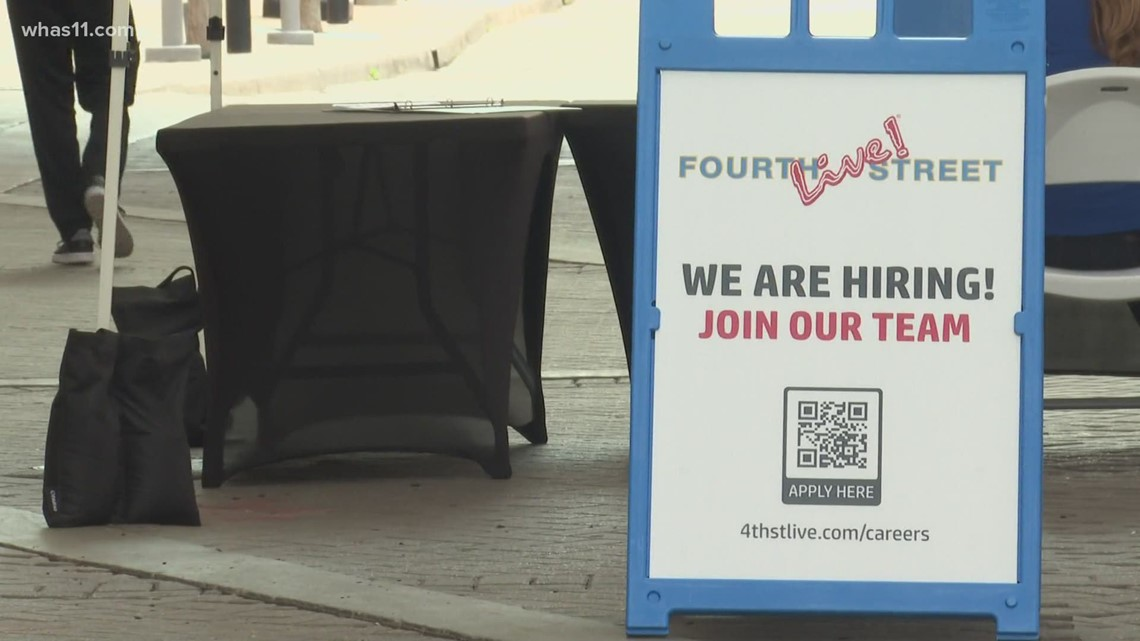 Business owners hiring, hope to bring the crowds back to Fourth Street Live