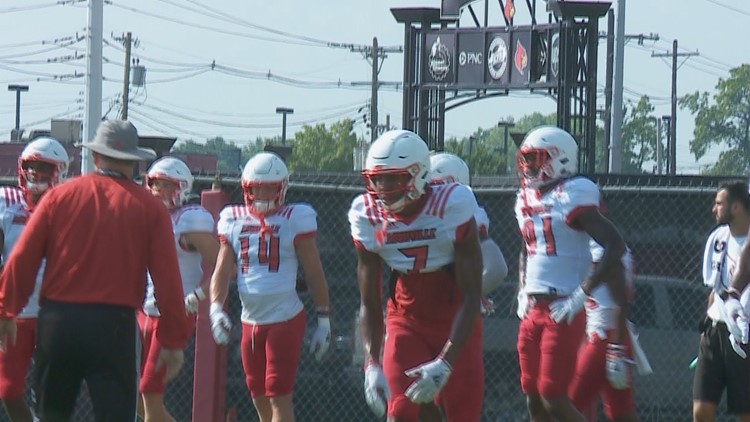 Louisville's wide receivers part of special football fraternity
