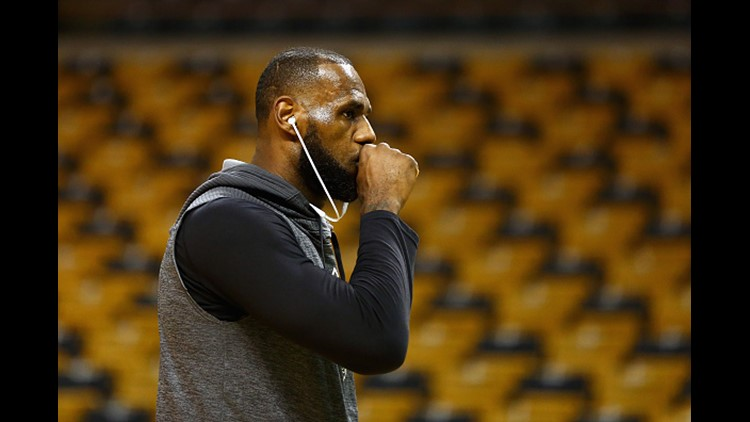 Report: LeBron James '100 percent leaving' Cleveland Cavaliers after upcoming season