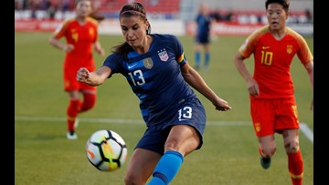 LIVE UPDATES: Team USA Women's Soccer Practices ahead of match with China at FirstEnergy Stadium