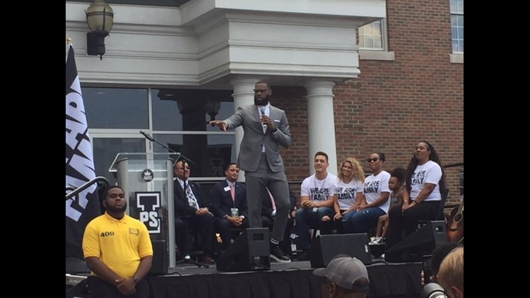 PHOTOS | LeBron James' I PROMISE school in Akron