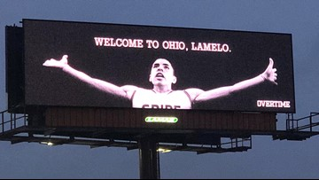 New LaMelo Ball billboard appears in downtown Cleveland
