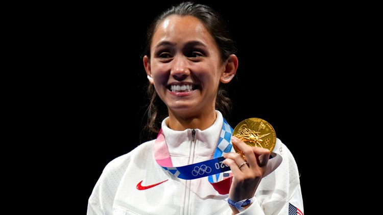 GOLD! UK student Lee Kiefer wins gold medal in fencing at Tokyo Olympics
