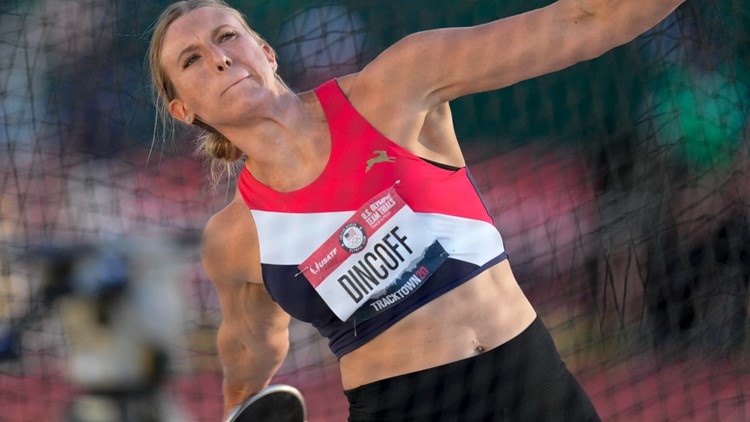 Indiana athlete qualifies for Olympics with clutch throw in women's discus final