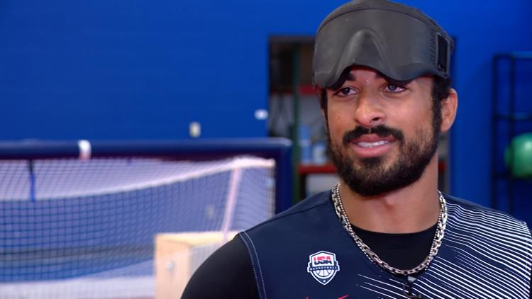 Indiana goalball player going for gold at Paralympics