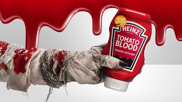 Heinz launches Halloween-themed ketchup nationwide