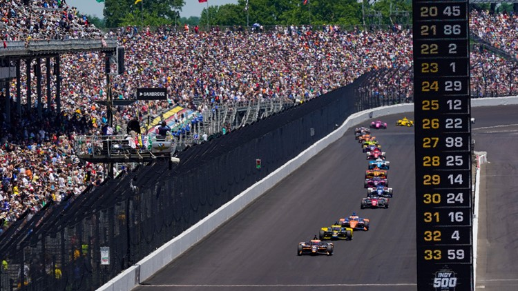 Indy 500 welcomes 135,000 fans for the world's biggest sports event of pandemic