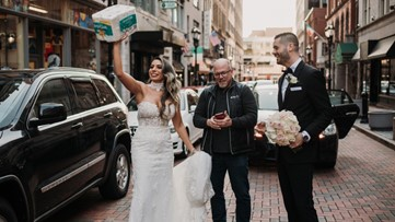 CT newlyweds reconnect with stranger who gifted them toilet paper at photoshoot during COVID-19 pandemic
