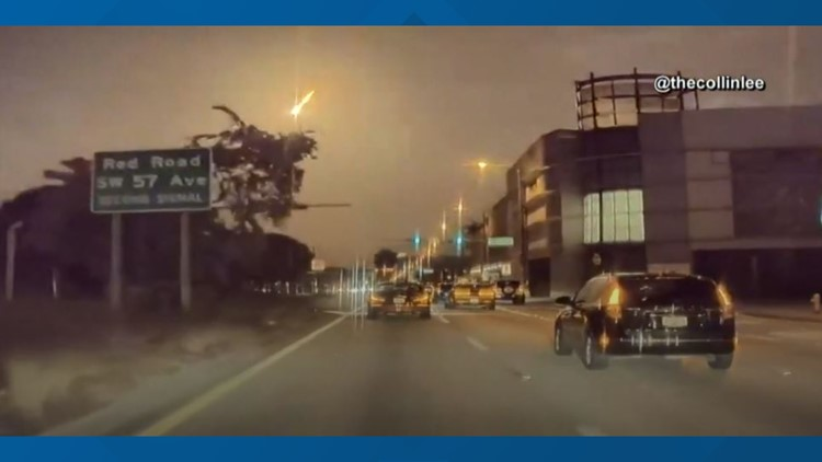 Fireball illuminates Monday night sky above Florida, Georgia and Bahamas