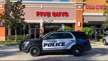 5 'guys' arrested at a Five Guys in Florida