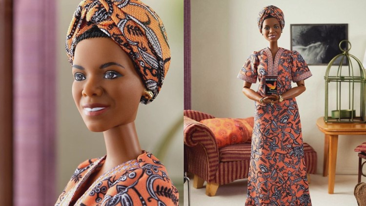 Barbie releases new doll honoring Dr. Maya Angelou