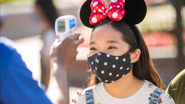 Walt Disney World to phase out temperature screenings of guests