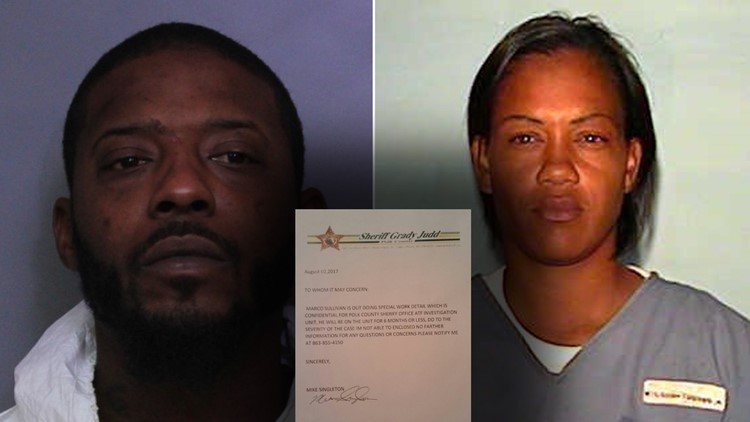 Couple sends fake letter from sheriff's office in an effort to keep job