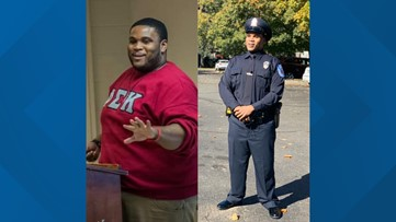 Man loses nearly 200 pounds to become police officer