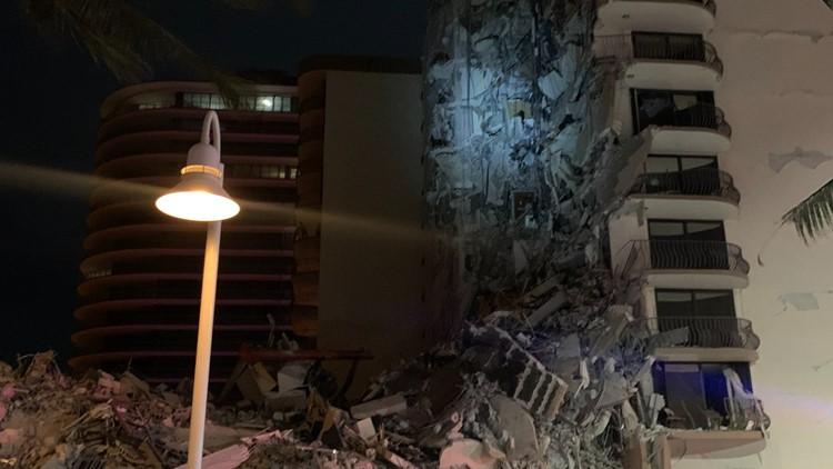 Video shows Miami-area condo collapse; 1 dead, at least 99 unaccounted for