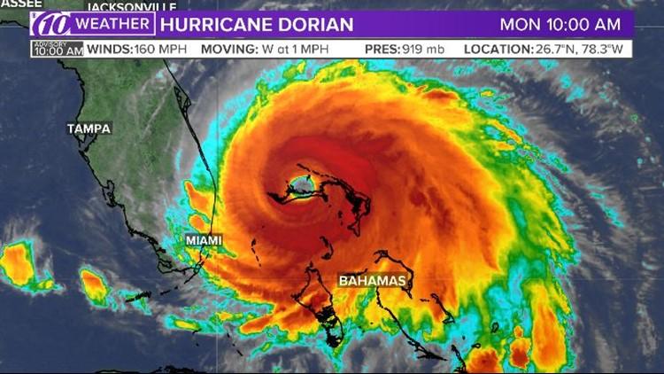Live blog: Hurricane Dorian downgraded to a Category 1 storm