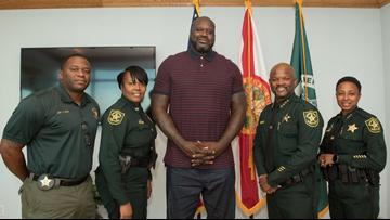 Shaq's got your back: NBA star now a Florida deputy